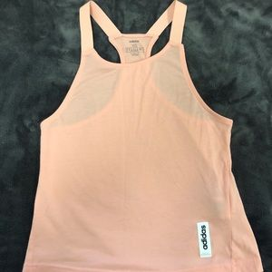 Adidas Light Pink Climate Control Racer-Back Top